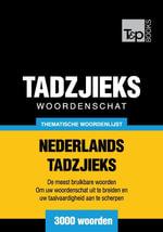 Thematische woordenschat Nederlands-Tadzjieks - 3000 woorden - Andrey Taranov