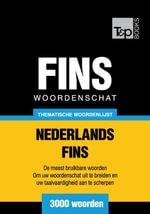 Thematische woordenschat Nederlands-Fins - 3000 woorden - Andrey Taranov