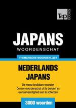 Thematische woordenschat Nederlands-Japans - 3000 woorden - Andrey Taranov