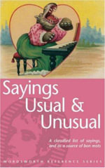 Usual and Unusual Sayings - Rodney Dale