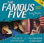 Five Go to Mystery Moor : AND Five on Kirrin Island Again - Enid Blyton