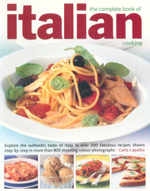 The Complete Book of Italian Cooking - Carla Capalbo
