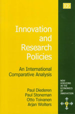 Innovation and Research Policies : An International Comparative Analysis - Paul Diederen