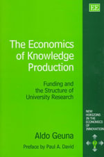 The Economics of Knowledge Production : Funding and the Structure of University Research - Aldo Guena