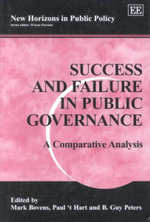 Success and Failure in Public Governance : A Comparative Analysis