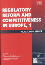 Regulatory Reform and Competitiveness in Europe I : Horizontal Issues