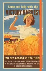 Imperial War Museum Victory Harvest Notebook - The Imperial War Museum