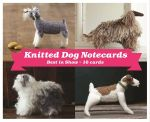 Best in Show Knitted Dog Boxed Notecards - Joanna Osborne