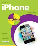 iPhone in Easy Steps : Cover iPhone 4 : In Easy Steps - Drew Provan