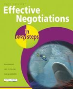 Effective Negotiations in Easy Steps : Delegation & Supervision - Tony Rossiter