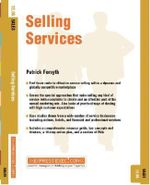 Selling Services : Sales 12.06 - Patrick Forsyth