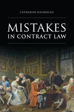 Mistakes in Contract Law - Catharine MacMillan