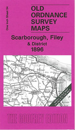 Scarborough, Filey and District 1896 : One Inch Sheet 54 - Susan Neave