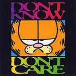 Don't Know, Don't Care : Garfield Gift Books - Jim Davis