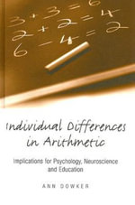 Individual Differences in Arithmetic - Ann Dowker