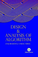 Design and Analysis of Algorithm - Anuj Bhardwaj
