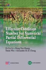 Effective Condition Number for Numerical Partial Differential Equations - Zi Cai Li
