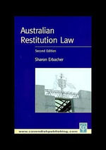 Australian Restitution Law - Sharon Erbacher