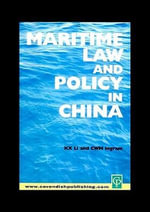 Maritime Law and Policy in China - Sharon Li