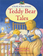 A Book of Five-minute Teddy Bear Tales : A Treasury of Over 35 Bedtime Stories - Nicola Baxter