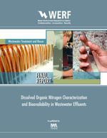 Dissolved Organic Nitrogen Characterization and Bioavailability in Wastewater Effluents : WERF Report 02-CTS-1a - Pagilla Krishna Water Environment Resear
