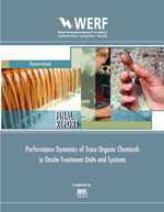 Performance Dynamics of Trace Organic Chemicals in Onsite Treatment Units and Systems : Werf Report Dec14u06 - Joerg Drewes