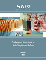 Development of Design Criteria for Denitrifying Treatment Wetlands : Werf Report Dec13u06 - Harold Leverenz