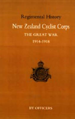 New Zealand Cyclist Corps in the Great War 1914-1918 - Officers of the Regiment