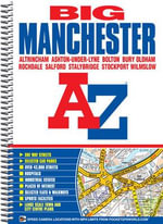 Manchester Deluxe Street Atlas - Great Britain