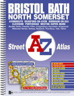 Bristol, Bath and North Somerset Street Atlas - Great Britain
