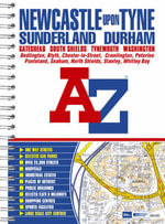 Newcastle Upon Tyne Street Atlas - Geographers' A-Z Map Company