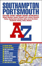 Southampton and Portsmouth Street Atlas - Geographers' A-Z Map Company
