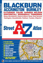 Blackburn Street Atlas - Geographers' A-Z Map Company