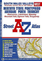 South Wales Valleys (west) Street Atlas - Geographers' A-Z Map Company