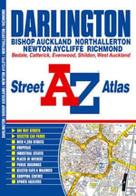Darlington Street Atlas : Itm.204 - Geographers' A-Z Map Company