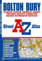 Bolton and Bury Street Atlas - Geographers' A-Z Map Company