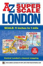 Super Scale London Street Atlas - Geographers' A-Z Map Company