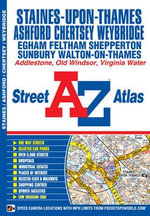 Staines Street Atlas : Cambridge Library Collection - Travel and Explorat... - Geographers' A-Z Map Company