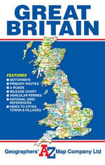 Great Britain Road Map - Geographers' A-Z Map Company