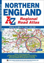 Northern England Regional Road Atlas - Geographers' A-Z Map Company