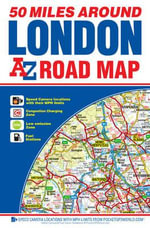 50 Miles Around London Road Map - Geographers' A-Z Map Company
