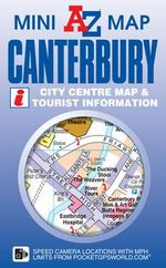 Canterbury Mini Map - Geographers' A-Z Map Company