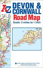 Devon & Cornwall Road Map - Geographers' A-Z Map Company
