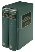 Dictionary of Twentieth-century British Philosophers : 2 Volumes