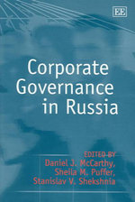 Corporate Governance in Russia