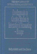 Developments in Country Studies in International Accounting - Europe