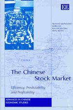 Chinese Stock Market - Nicolaas Groenewold