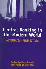 Central Banking in the Modern World - Marc Lavoie