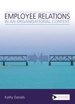 Employee Relations in an Organisational Context - Kathy Daniels