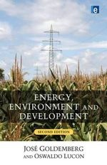 Energy, Environment and Development - Jose Goldemberg